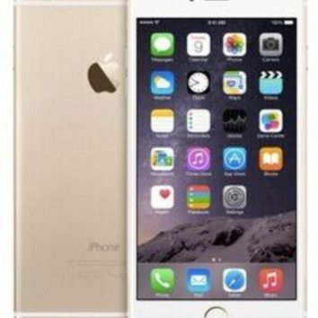 "Apple Iphone 6 Plus Fake Metal 5.5""inch 1:1 Non-working Dummy Phone for Display Gold (with color Screen)"
