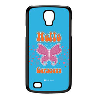 Sassy - Hello Gorgeous 10433 Black Hard Plastic Case for Galaxy S4 Active by Sassy Slang
