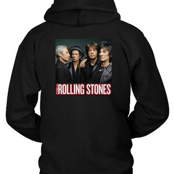 The Rolling Stones Cover Photo Hoodie Two Sided