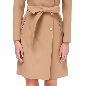 Mackage - PARISA | BELTED WOOL JACKET IN CAMEL | WOMEN | MACKAGE