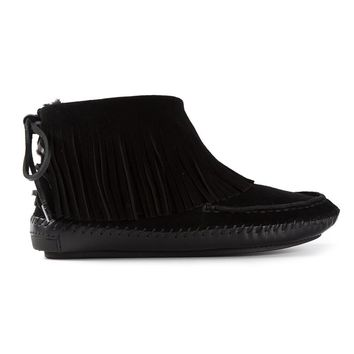 Tory Burch fringed boots