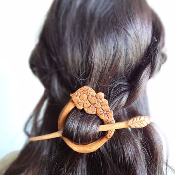 $35.00 spring fairy mori girl gypsy boho  flower hair by theancientmuse