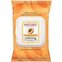 Peach & Willow Bark Exfoliating Facial Cleansing Towelettes 25ct
