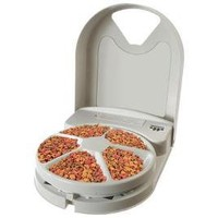 Programmable 5-meal Pet Feeder