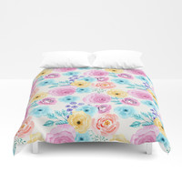 Lisa Duvet Cover by sylviacookphotography