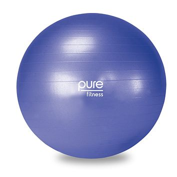 Pure Fitness Professional Anti-burst Exercise Stability Ball