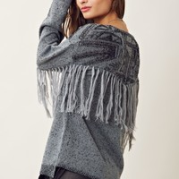 Twelfth Street Fringe Sweater
