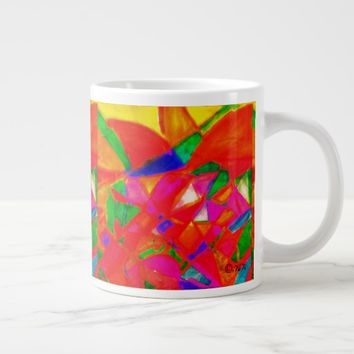 Appleflower Large Coffee Mug