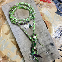 Earth Wrap Necklace