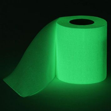 Thumbs Up! Glow in The Dark Toilet Paper