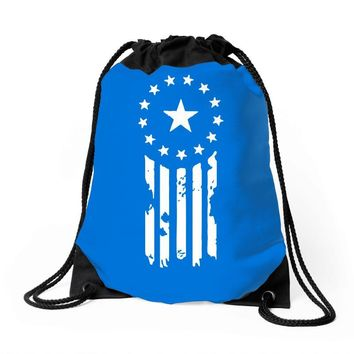 Fallout Old World Justice (New Vegas) Drawstring Bags