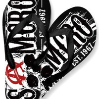 Sons Of Anarchy Flip Flops - Samcro 1967