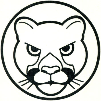 PANTHER HEAD Temporary Tattoo 2x2