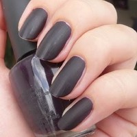 Opi Lincoln Park After Dark Matte New