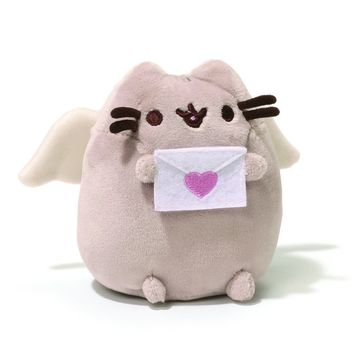 "CUPID PUSHEEN 4.25"" PLUSH"