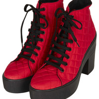 ASTRIX Chunky Lace-Up Boots - New In This Week  - New In