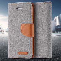 Leisure Women Man Stand Wallet Flip Case For iPhone 6 7 Fashion Hit Color Card Slot Leather Cover For iPhone 7 6s Plus With Logo -0315