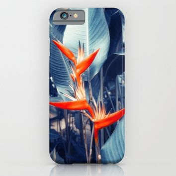 Tropical Parakeet Flower iPhone & iPod Case by Cinema4design | Society6