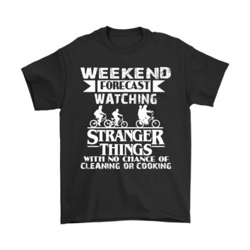 ESB8HB Weekend Forecast Watching Stranger Things Shirts