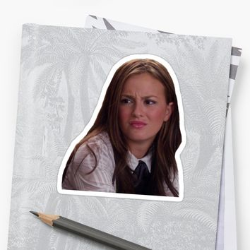 'blair waldorf 2' Sticker by emad14