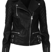 Tall Biker Jacket - Topshop USA