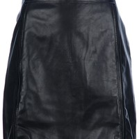 3.1 Phillip Lim Leather Skirt - Ottodisanpietro - farfetch.com