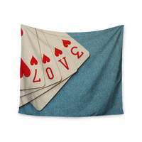 "Skye Zambrana ""Love"" Wall Tapestry"