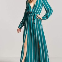 Surplice M-Slit Dress