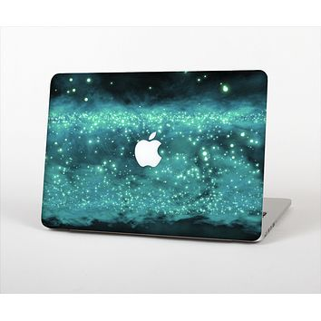 "The Trendy Green Space Surface Skin Set for the Apple MacBook Pro 15"" with Retina Display"