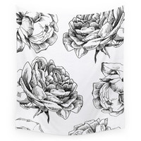 Society6 Roses Wall Tapestry