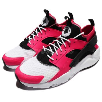 Nike Air Huarache Run Ultra Siren Red Black Men Shoes Sneaker Slip-On 819685-603