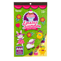 ConsumerCrafts Product Easter Sundae Sticker Book with 444 Easter Stickers