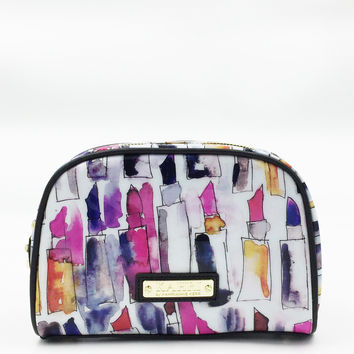 Messy Lipstick Medium Cosmetic Bag