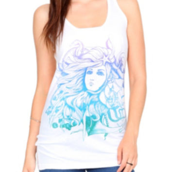 Mermaid Sea Girls Tank Top