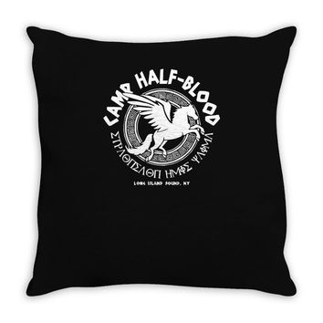 camp half blood long island Throw Pillow