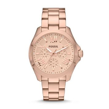 Cecile Multifunction Watch, Rose Gold | FOSSIL