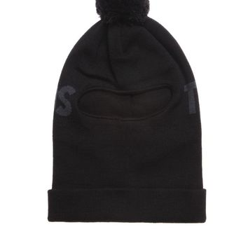 The Hundreds Gimmie 2 Ski Mask - Mens Hats - Black - One