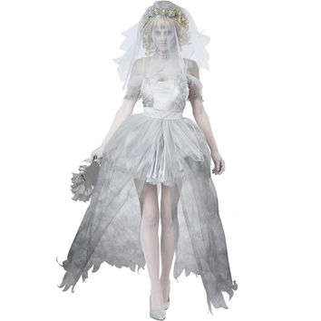 High Quality Ghost Bride Costume