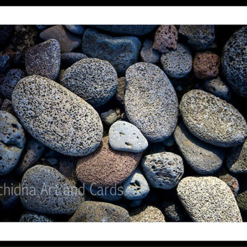 Pebbles Beach Wall Art, Coastal Wall Decor, Large Beach Print, Rustic Cottage Decor, Home Decor, 16x20 Print, Fine Art Nature Photography