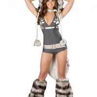 Wolf Romper Costume @ Amiclubwear costume Online Store,sexy costume,women's costume,christmas costumes,adult christmas costumes,santa claus costumes,fancy dress costumes,halloween costumes,halloween costume ideas,pirate costume,dance costume,costumes for