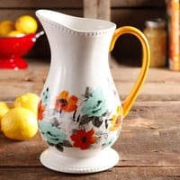 The Pioneer Woman Flea Market Decorated Floral 2-Quart Pitcher - Walmart.com