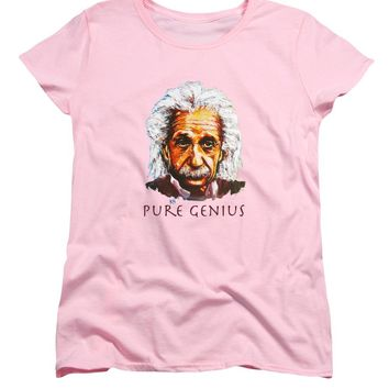 Pure Genius - Einstein - Women's T-Shirt (Standard Fit)