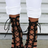 She's All That Heels: Black - Hope's Boutique