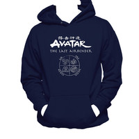 Avatar the Last Airbender Unisex Hooded Sweatshirt, Avatar Unisex Hoodie