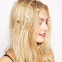 Lovely gold stars spring female headdress
