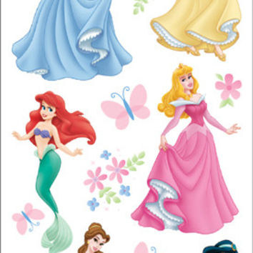 disney stickers packaged-princess dreams glitter