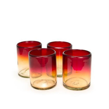 Bambeco Tumbler Glass Recycled Rioja (12x4 PK)