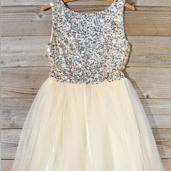 Sequins Short Homecoming Dress