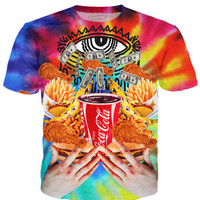 Super Trippy Fast food T-Shirt