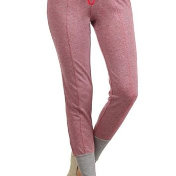Pink / Grey Terry Joggers